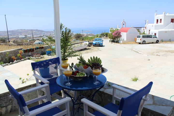 Stelios Village Arport - Αpartment for 3 Sea View