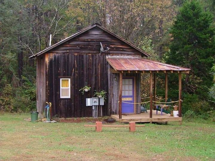 Pirates den at Tobacco Farm Camp by Kerr Lake