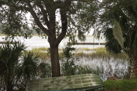 Calm Retreat with Waterfront View! - Savannah