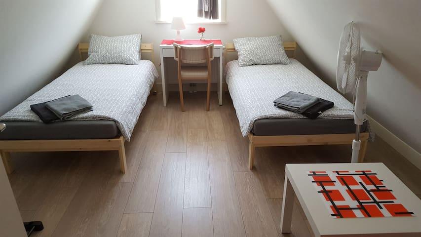 Private bedroom in Jordaan