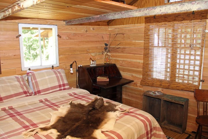 The Bunk House at Off-the-Grid Pholia Goat Farm