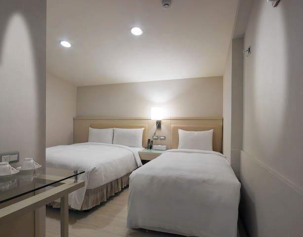 近士林夜市 士林捷運站 舒適三人房 Triple Room