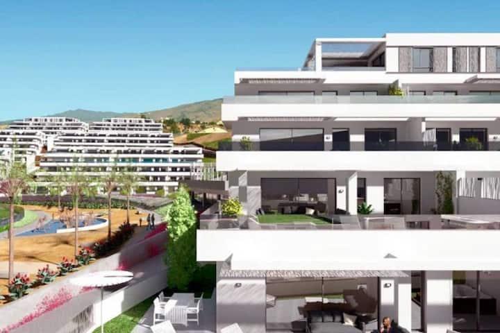 Luxury apartment in resort with panoramic seaview