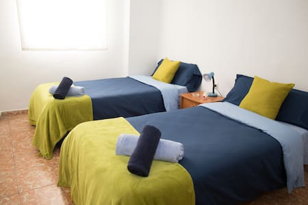 Room & Breakfast Air Conditioner+Wifi+5'Alhambra 2 - Granada