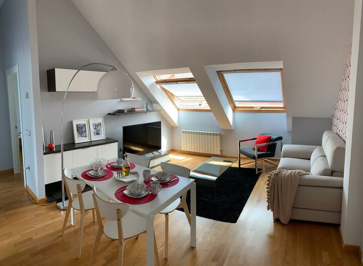 New apartment with terrace in Gijón