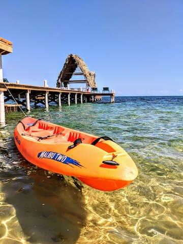 Mermaid Petite Cabana on 400' of Private Beach