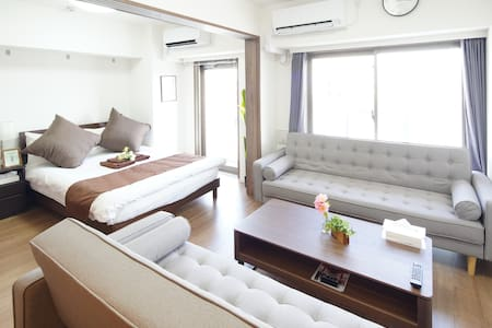 3mins to Shinagawa/4mins to sta./6pax/Wi-Fi/ID1301