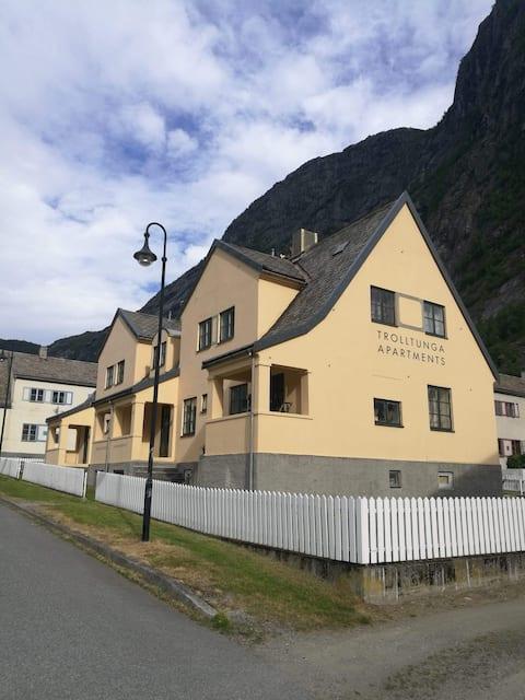 Trolltunga Apartments for max 6 guests
