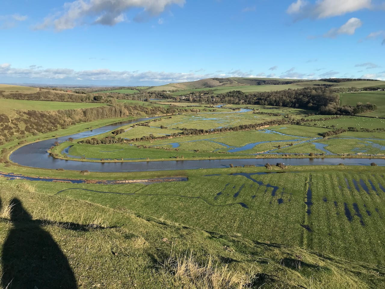 This  the area people come to enjoy, Part of the Cuckmere Valley