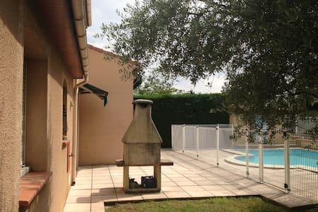 Villa T5 a 10 minutes de Toulouse - Seilh - Rumah