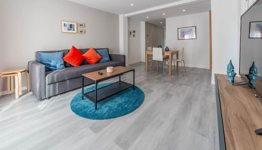 Valencia Cabanyal playa + wifi - València - Appartamento