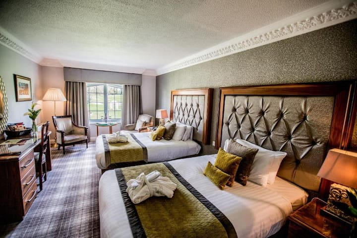 Classic Twin Room at Ramside Hall Hotel