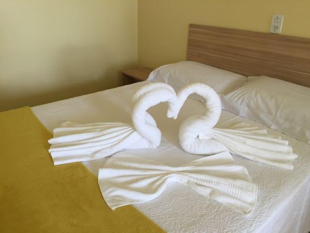 Hospedar bem no centro de Joanópolis - Joanópolis - Appartement