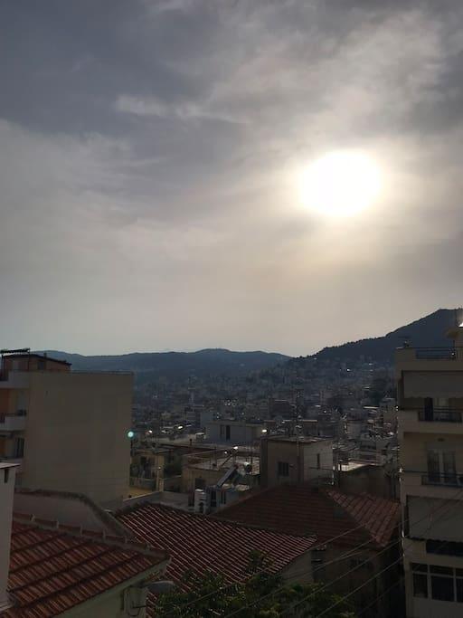 Θέα από το μπαλκόνι