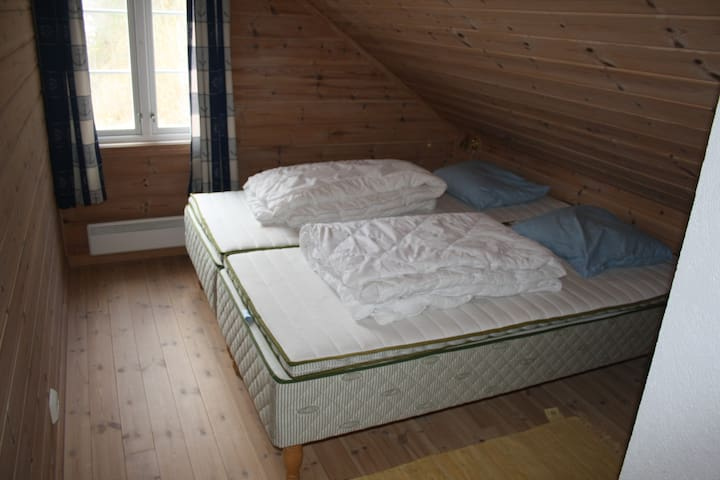 Bedroom nr 1 with one dobbelbed 180*200 cm