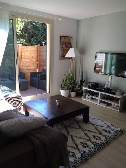 appart maison cosy avec jardin erdre et beaujoire appartements louer nantes pays de la. Black Bedroom Furniture Sets. Home Design Ideas