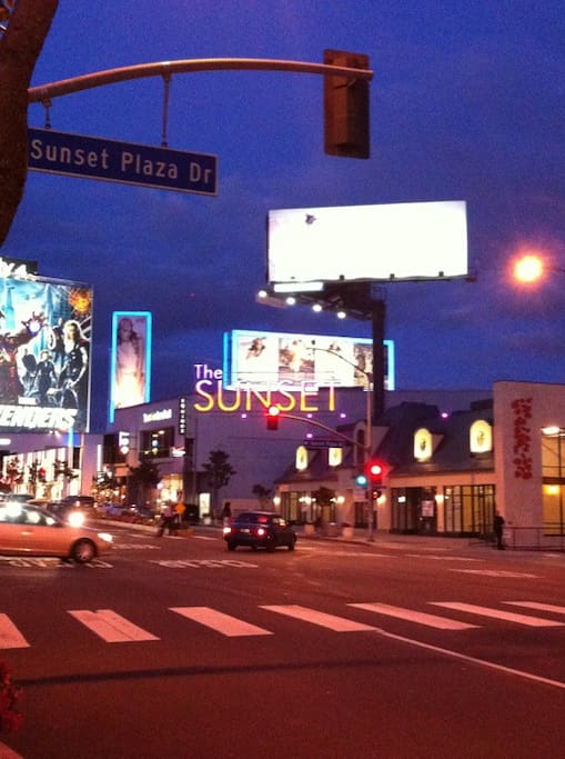 Photo of Sunset Plaza Drive