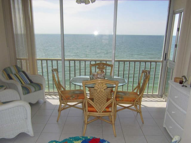 Great  condo on the beach with boat dock, A302.