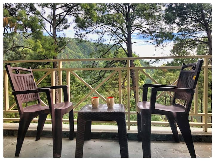 One bedroom flat for 3 guests Bhowali Nainital GF3