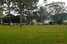 El Bosque Park only 200 meter from place. Ideal for a walk or just relax