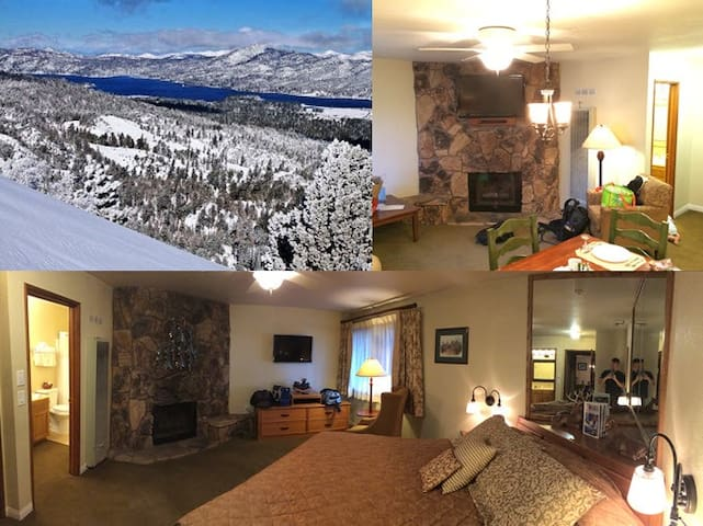 Furnished Attached Condo in Big Bear