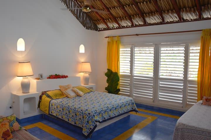 Balsillas - casa en paraíso frente al Mar Caribe