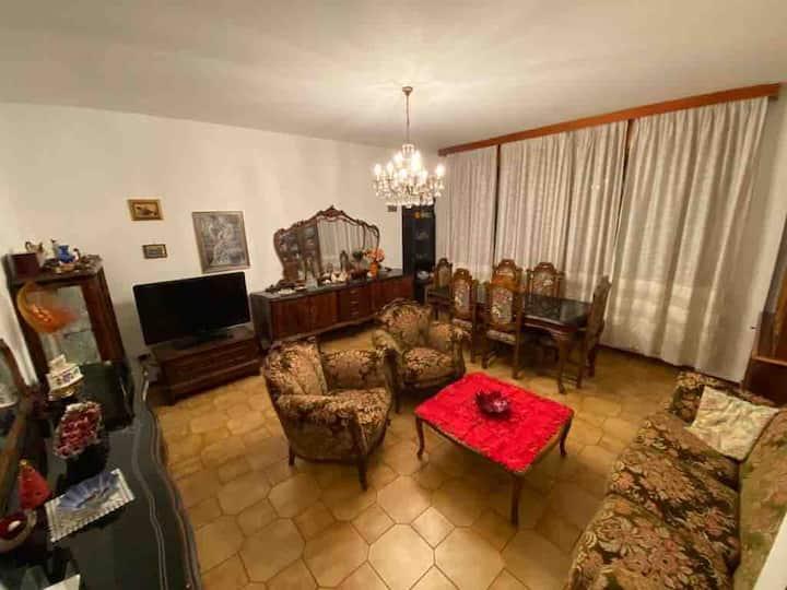 Appartamento in villa singola(prossimità stazione)