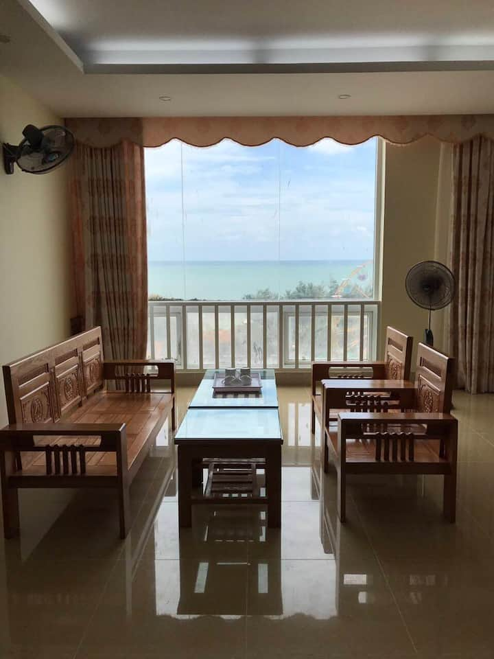 Tranquil furnished condo, direct seaview from bed