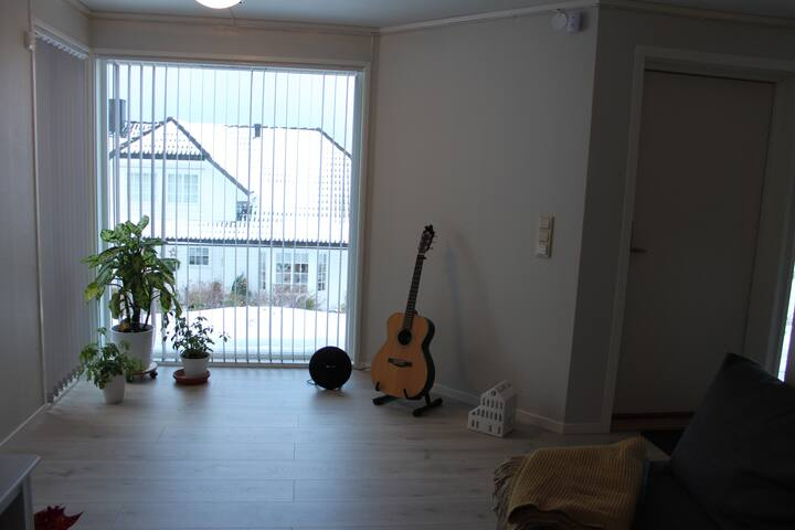 3 -roms leilighet Vikhammer, nært Trondheim