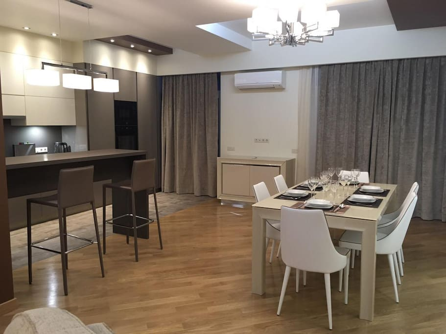 Luxury apartment with great facilities flats for rent in for Kitchen furniture yerevan