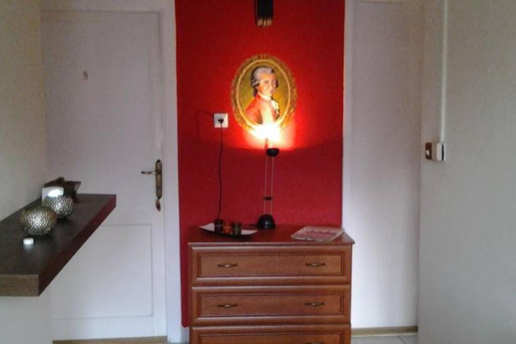 Comfort szoba előszoba