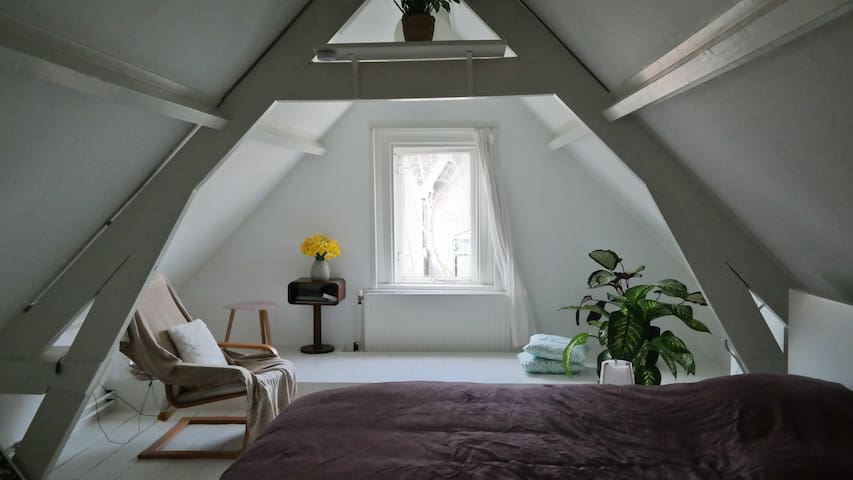 European attic of 19th century - Dordrecht