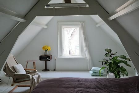 19th century attic near Dordrecht Station& City C. - Dordrecht - Apartmen