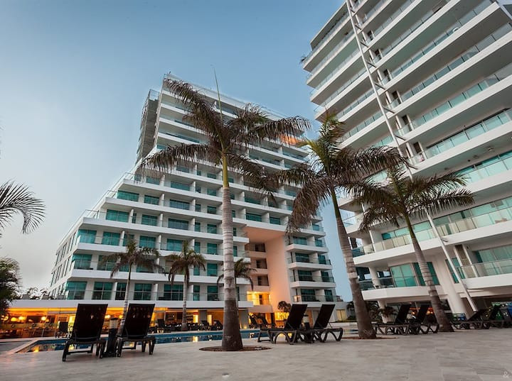 Super Apartamento Hotel Sonesta Cartagena Morros 6