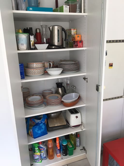 Kitchen Cupboard: All things need / equipment