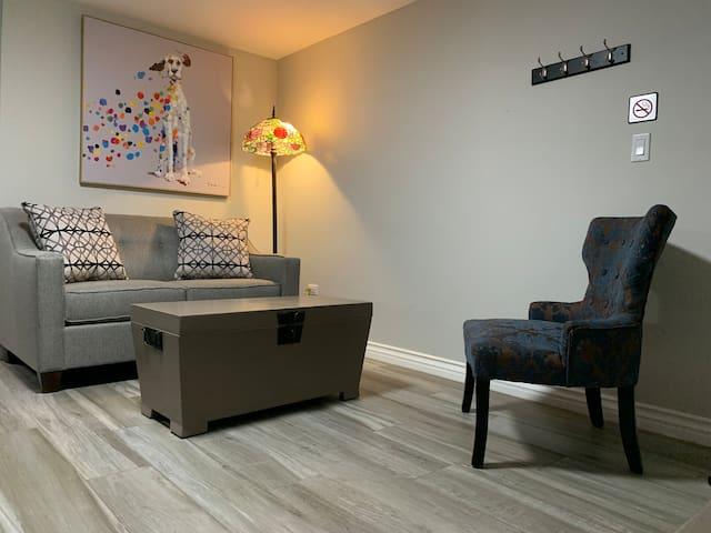 Cozy 1 Bedrm Apart@Gastro Distr. w/AC/Wifi/SmartTV