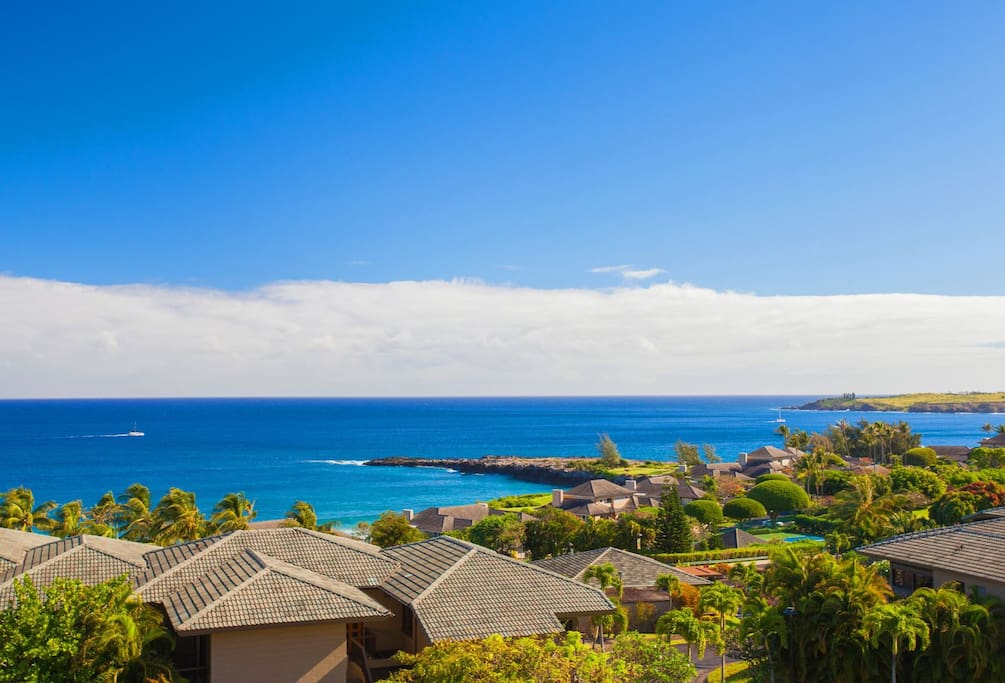 Take in the incredible, unobstructed ocean views