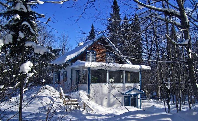 Ma cabane au Canada! - Saint-Adolphe-d'Howard - Rumah