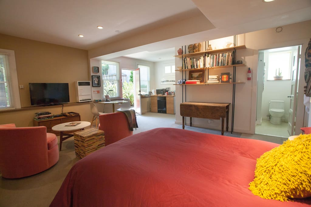 The spacious Garden Suite with everything you need.