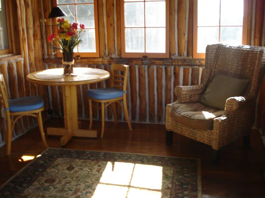 Back sitting room.