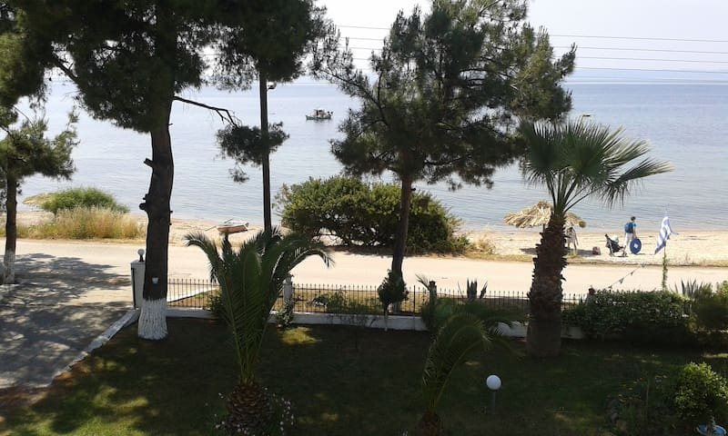 Big Apartment (30m from the beach) Chalkidiki - Halkidiki - Appartement