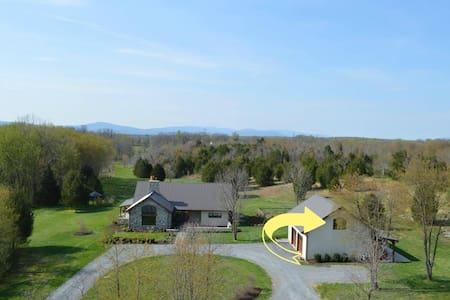 Modern & Bright Guest Quarters @ Twisted Oak Farm