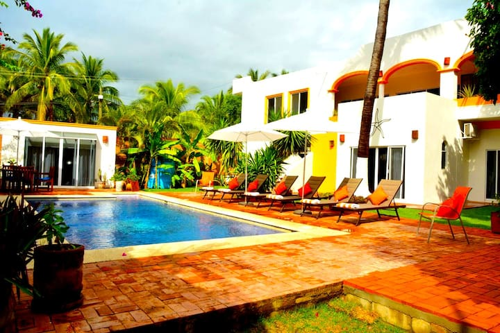 A private villa, your home away in paradise.