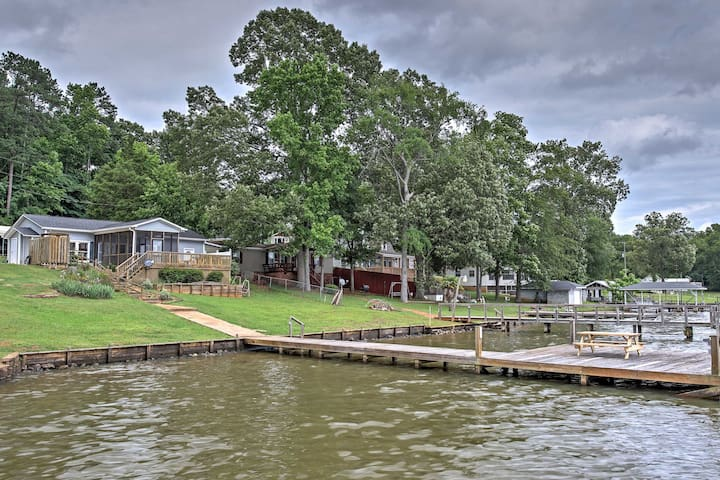 NEW! Waterfront 2BR Waterloo House w/Private Dock!