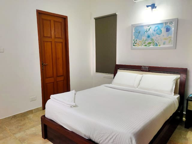 King Room @ Beach Living Area - Chennai style
