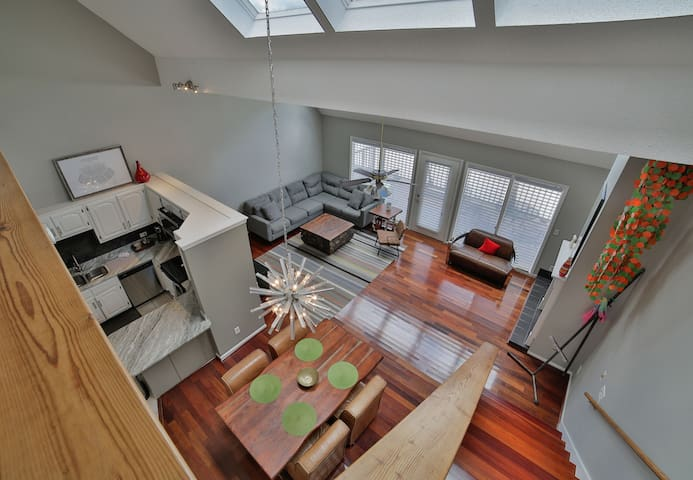 3 Bedroom Riverfront Loft