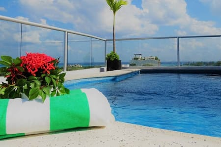 Turtle Suite with Rooftop Pool - Playa del Carmen - Appartement