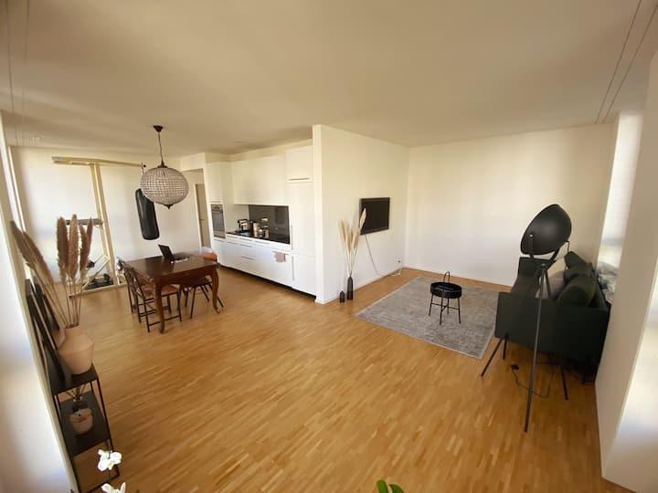 Moderne 2.5 Zimmer-Wohnung inkl. Fittnessgerät