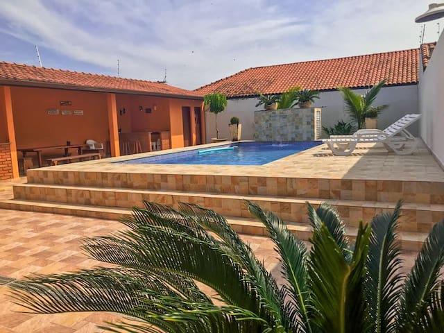Casa com piscina Itanhaem Cibratel II