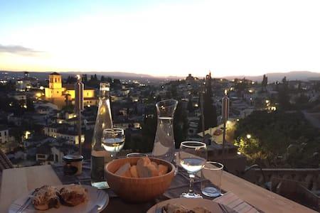 The Sunset House. Charming Alhambra - Granada